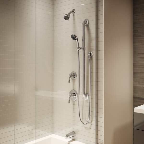 Origins Single Handle Tub and Shower Faucet with Stops by Symmons