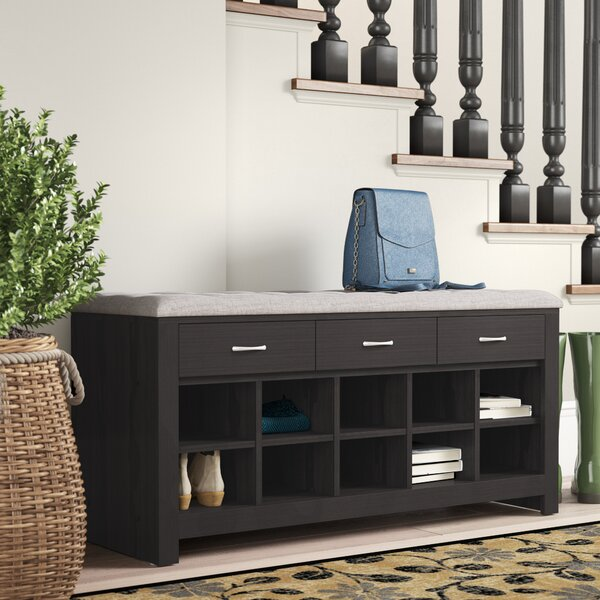 Sloane Upholstered Storage Bench By Andover Mills
