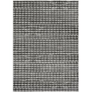 Deals Hatboro Gray/Black Area Rug By Gracie Oaks