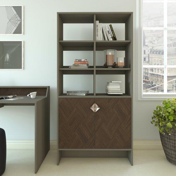 Woodcock Standard Bookcase By Ebern Designs