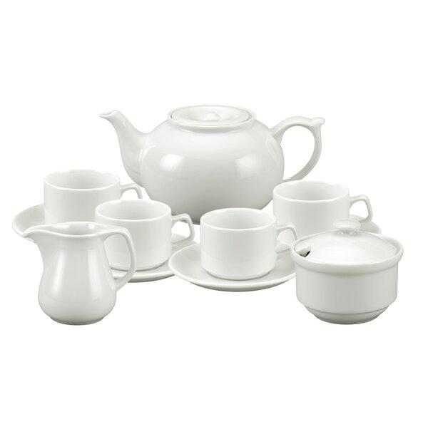 Auden 11 Piece Porcelain Tea Set by Alcott Hill