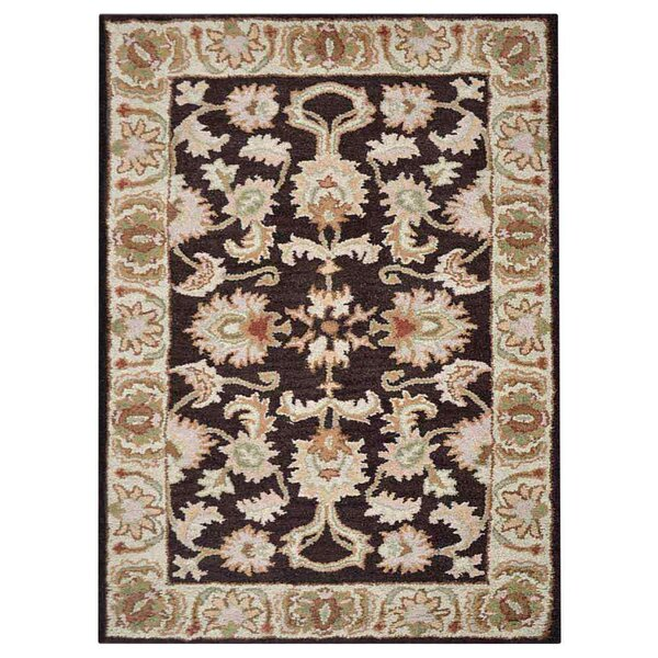 Creamer Hand-Tufted Brown/Beige Area Rug by Darby Home Co