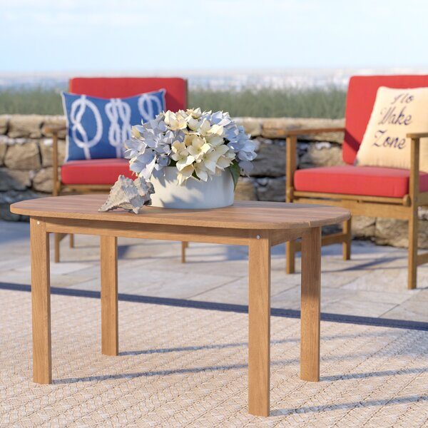 Palomar Solid Wood Coffee Table by Beachcrest Home