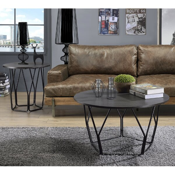 Altalune 2 Piece Coffee Table Set By Wrought Studio