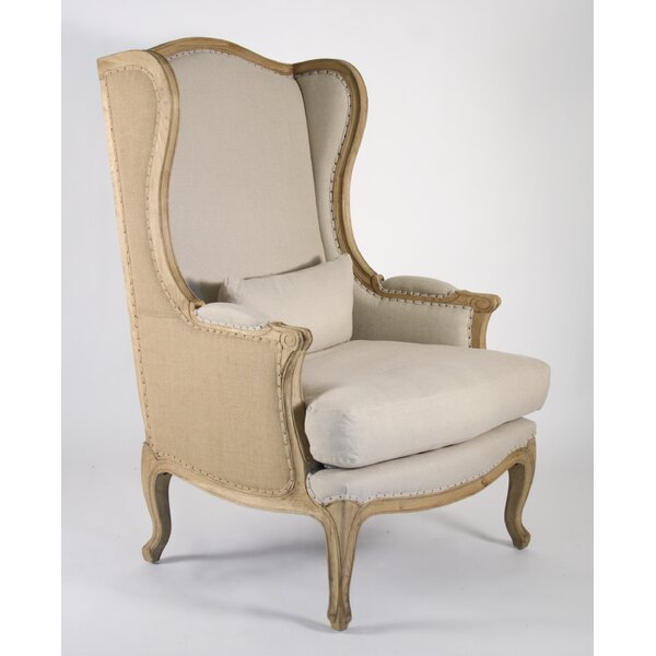 Leon Wingback Chair by Zentique Zentique
