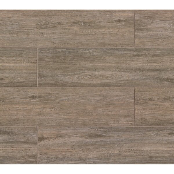 Titus 8 x 36 Porcelain Field Tile in Noce by Bedrosians