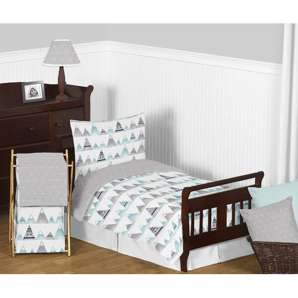 Mountains 5 Piece Toddler Bedding Set by Sweet Jojo Designs