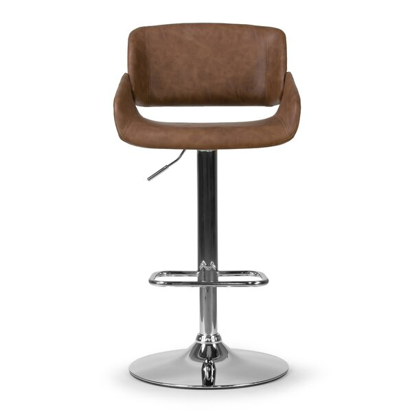 Buie Adjustable Swivel Height Bar Stool by Union Rustic