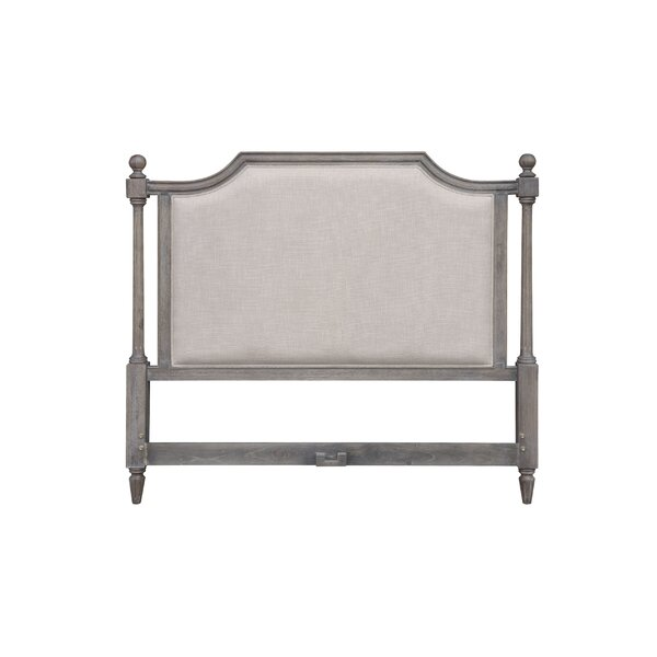 Rosas King Upholstered Panel Headboard by Rosalind Wheeler