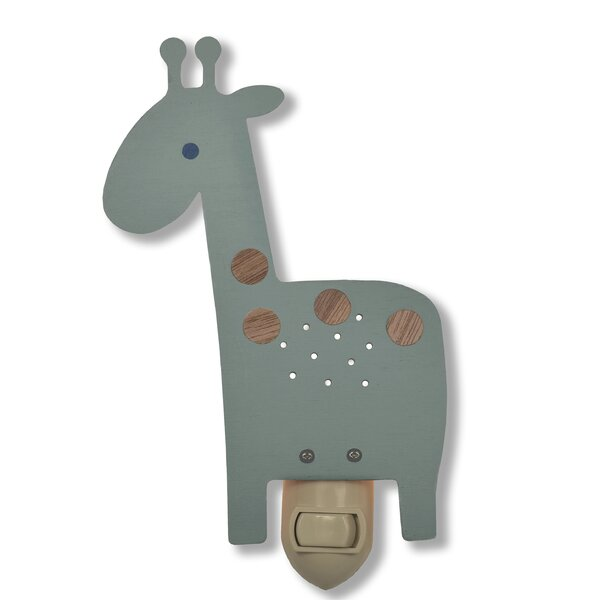 Giraffe Night Light by Tree by Kerri Lee
