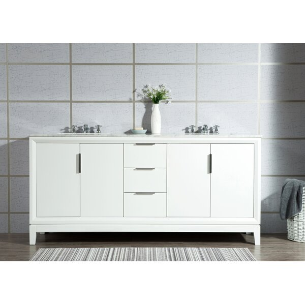 Tappahannock 72 Double Bathroom Vanity Set