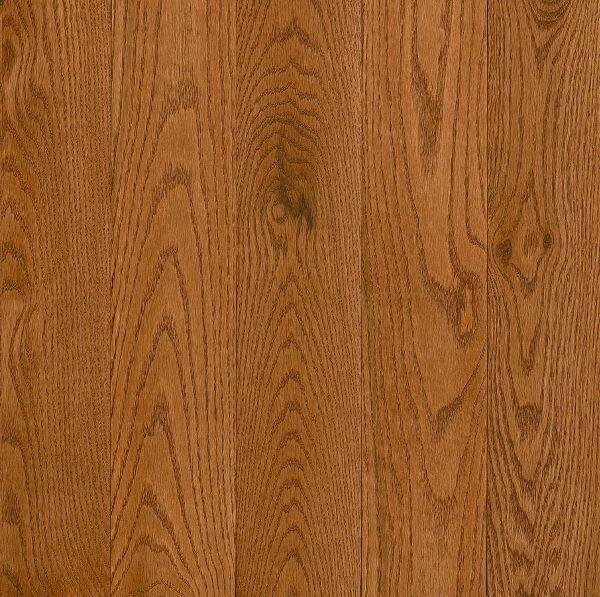 Prime Harvest 5 Solid Oak Hardwood Flooring in High Glossy Gunstock by Armstrong Flooring