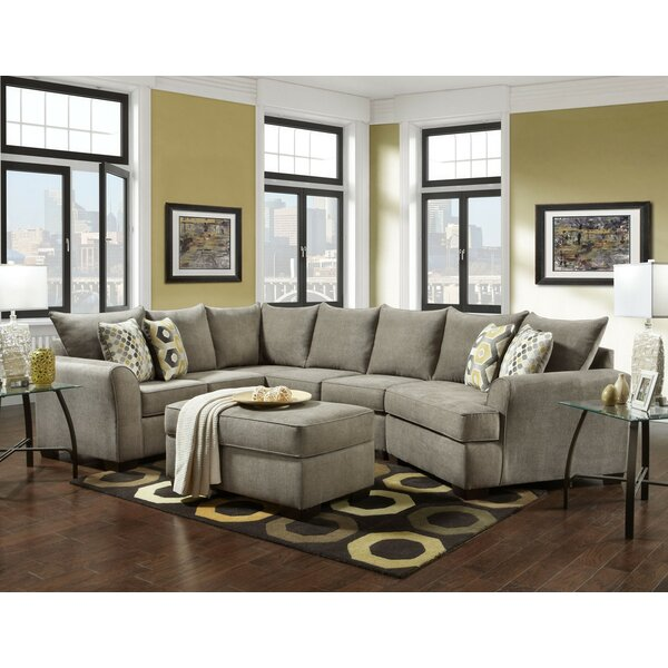Rensfield Sectional with Ottoman by Red Barrel Studio