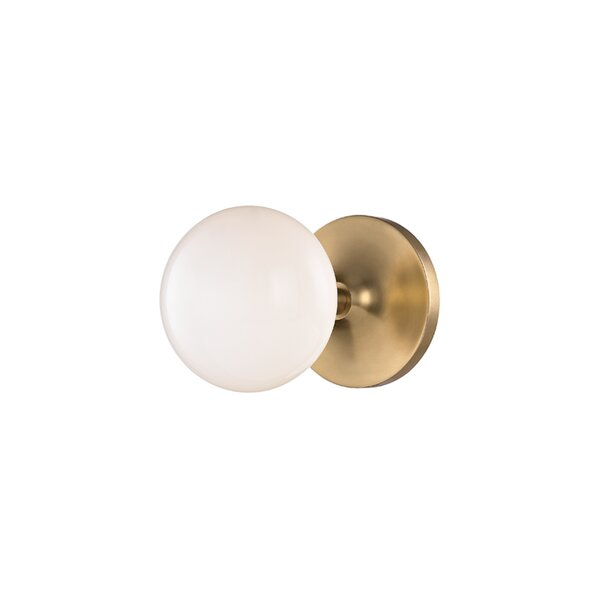 Alongi 1-Light Bath Sconce by Langley Street