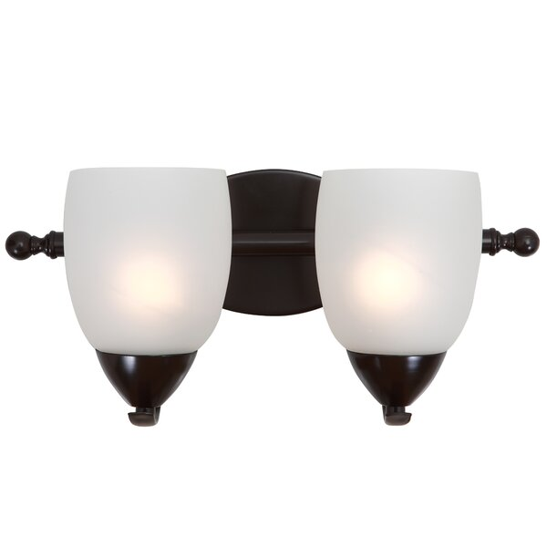 Monrovia 2-Light Vanity Light by Charlton Home