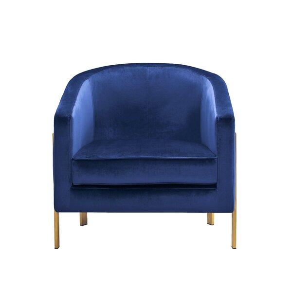 Maddox Barrel Chair by Everly Quinn