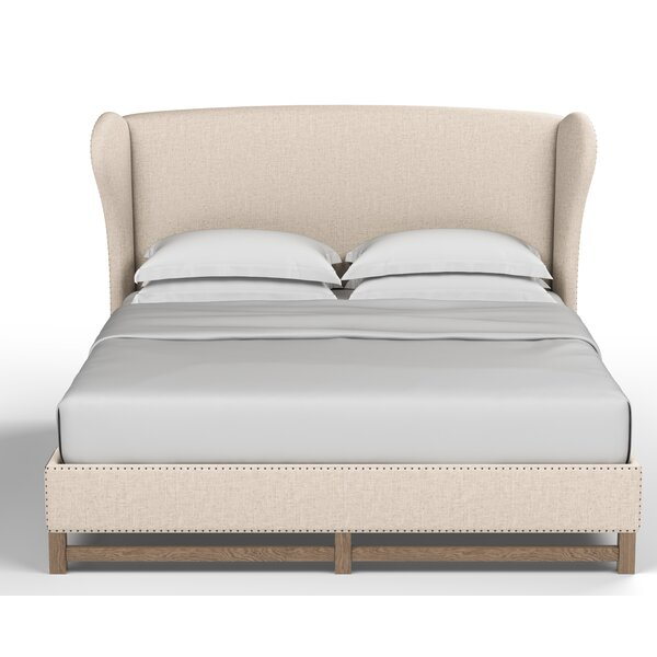 Augustine Upholstered Standard Bed by Canora Grey