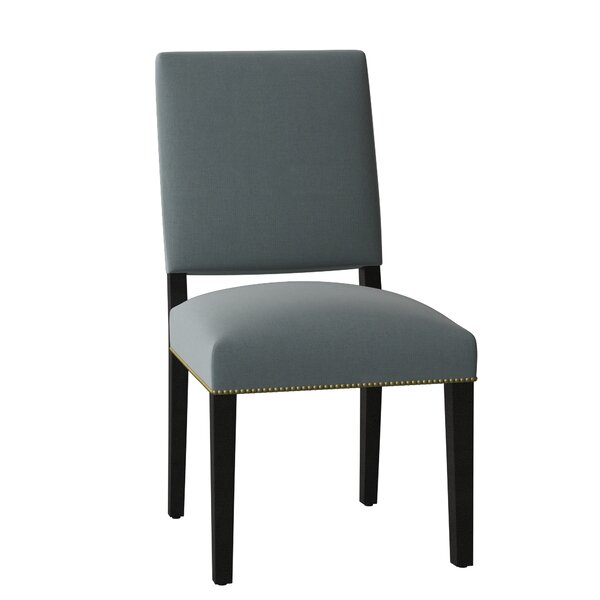Canterbury Upholstered Dining Chair by Sloane Whitney Sloane Whitney
