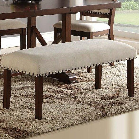 Amelie II Upholstered Bench by Infini Furnishings Infini Furnishings