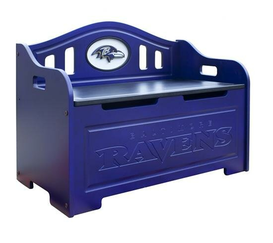 NFL Storage Bench by Fan Creations