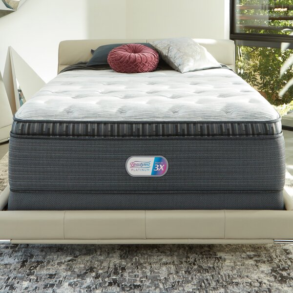 Beautyrest Platinum 16 Plush Pillow Top Innerspring Mattress and Box Spring by Simmons Beautyrest
