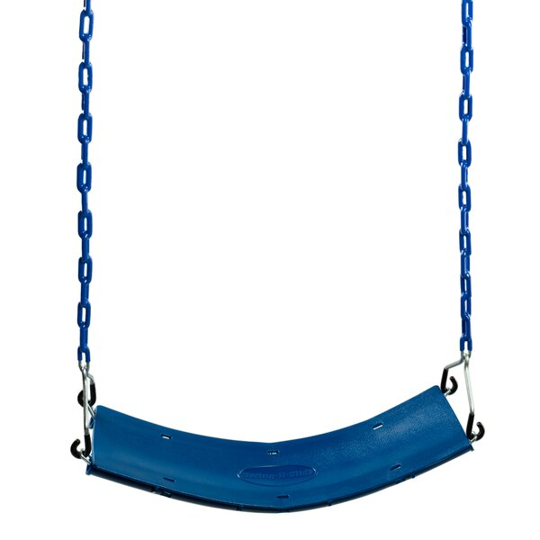 Swing Seat with Coated Chain by Swing-n-Slide