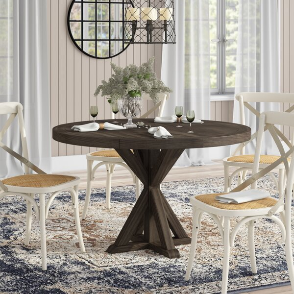 Sydney Solid Wood Dining Table by Laurel Foundry Modern Farmhouse Laurel Foundry Modern Farmhouse