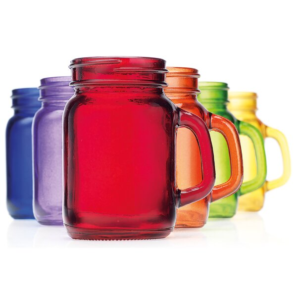 Ratzlaff Mason Jar Shooter Glass (Set of 6) by Wrought Studio