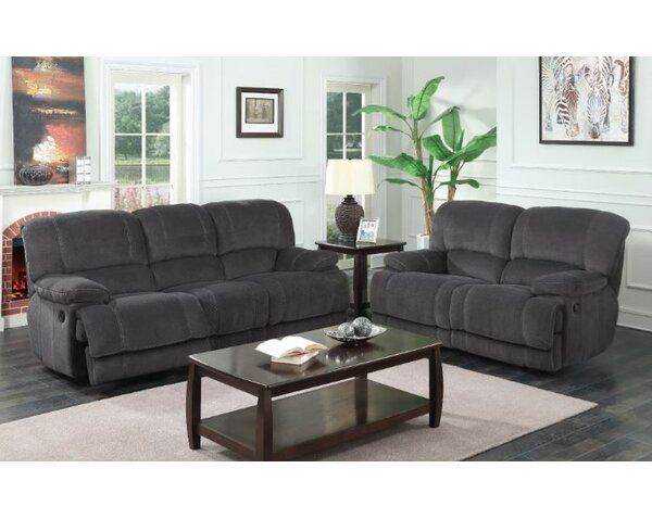 Emily Reclining Configurable Living Room Set By Red Barrel Studio