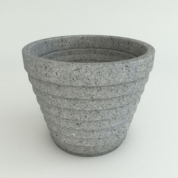 Step Resin Pot Planter by TerraCast Products