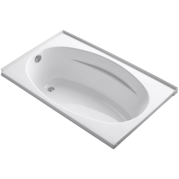 Alcove 60 x 36 Soaking Bathtub by Kohler