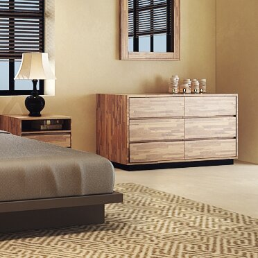 Remington 6 Drawer Double Dresser by Millwood Pines