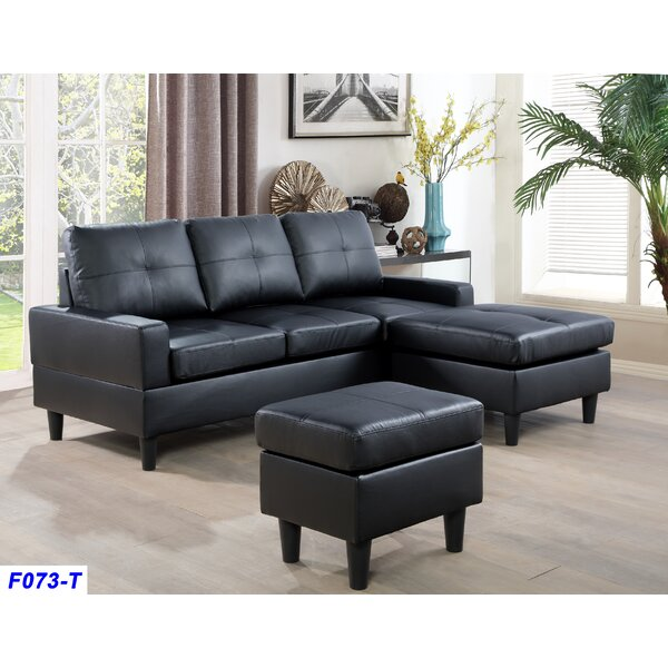 Reis Reversible Sectional with Ottoman by Latitude Run