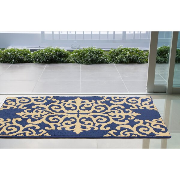 Are Blue/Beige Area Rug by House of Hampton