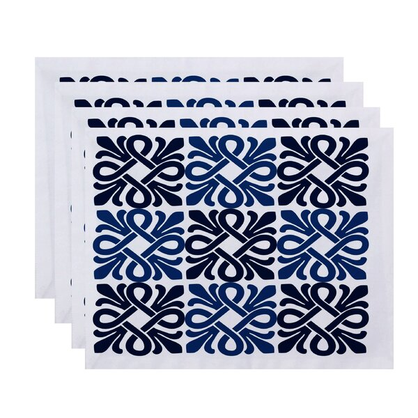Temple Terrace Placemat (Set of 4) by Beachcrest Home