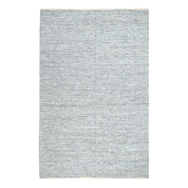 Darien Hand-Woven Fog Area Rug by Birch Lane™
