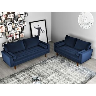 Womble 2 Piece Living Room Set by Mercer41