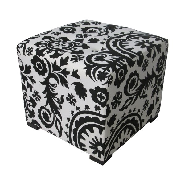 Merton Tufted Cube Ottoman by Sole Designs