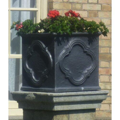 Cragmont Fibreglass Planter Box Bloomsbury Market Size: Extr