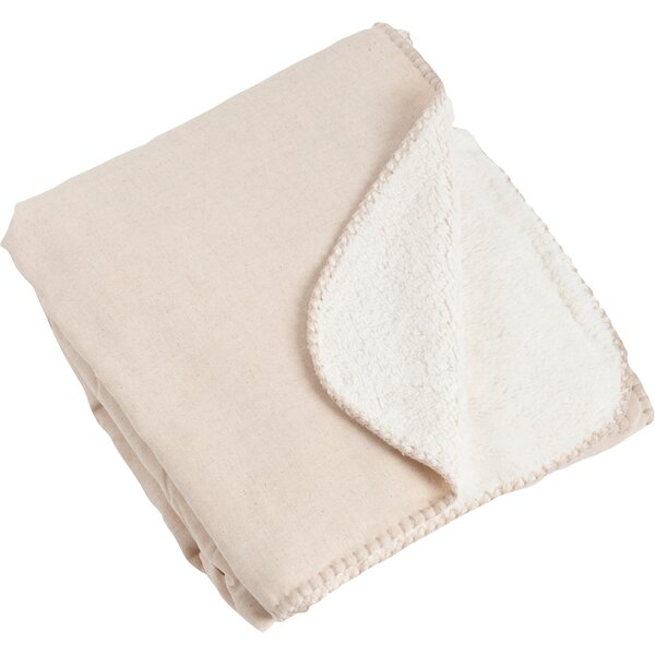 Saybrook Classic Design with Sherpa Throw by Saro