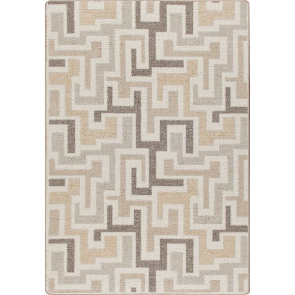 Mix and Mingle Neutral Junctions Rug by Milliken
