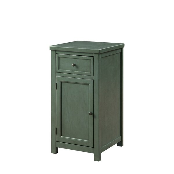 Ethelyn End Table With Storage By Rosecliff Heights