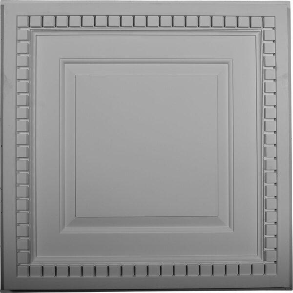 Dentil 23 3/4H x 23 3/4W x 1 5/8D Ceiling Tile by Ekena Millwork