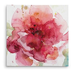 'Bold Blush I' Painting Print on Wrapped Canvas by Andover Mills