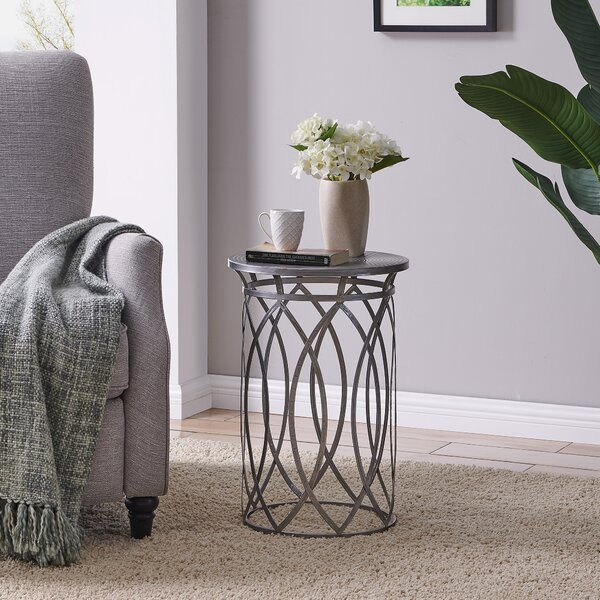 Timmie End Table by Wrought Studio