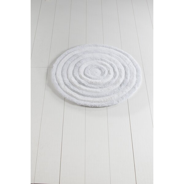 Sartain Circle Non-Slip Bath Rug