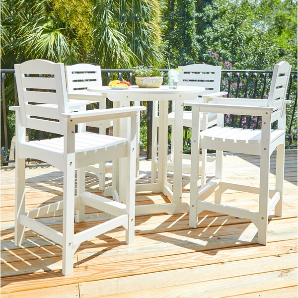 Inshore 5 Piece Dining Set by Bay Isle Home