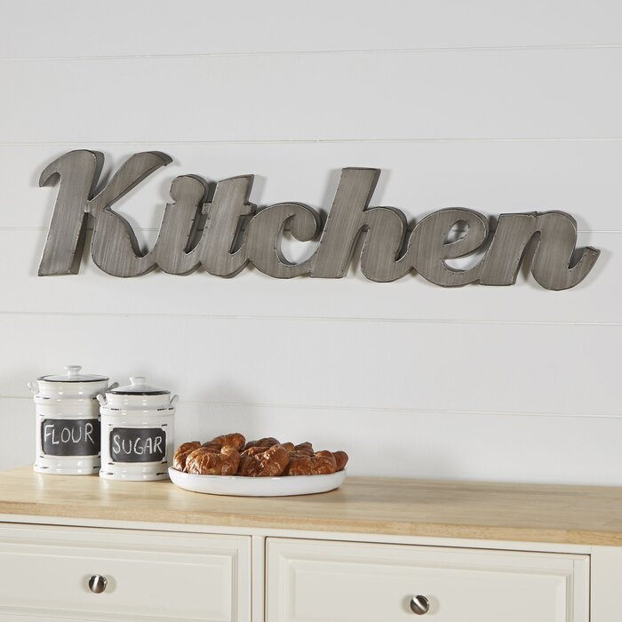 woodland imports kitchen wall decor | wayfair.ca