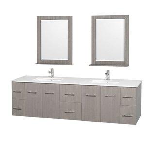 Modern Floating Bathroom Vanities | AllModern