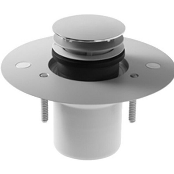 Flush Fitting Shower Tray vertical Outlet 4 Pop-Up Bathroom Sink Drain by Duravit